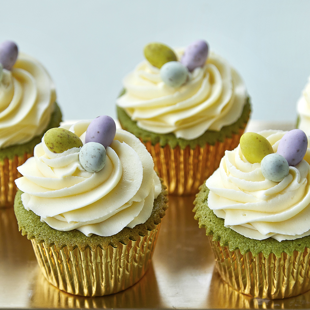 Matcha recipes - cupcakes
