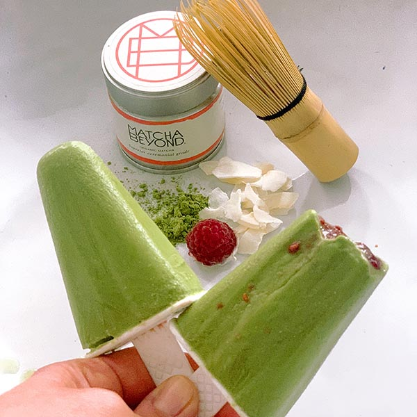 Matcha recipes - ice lollies
