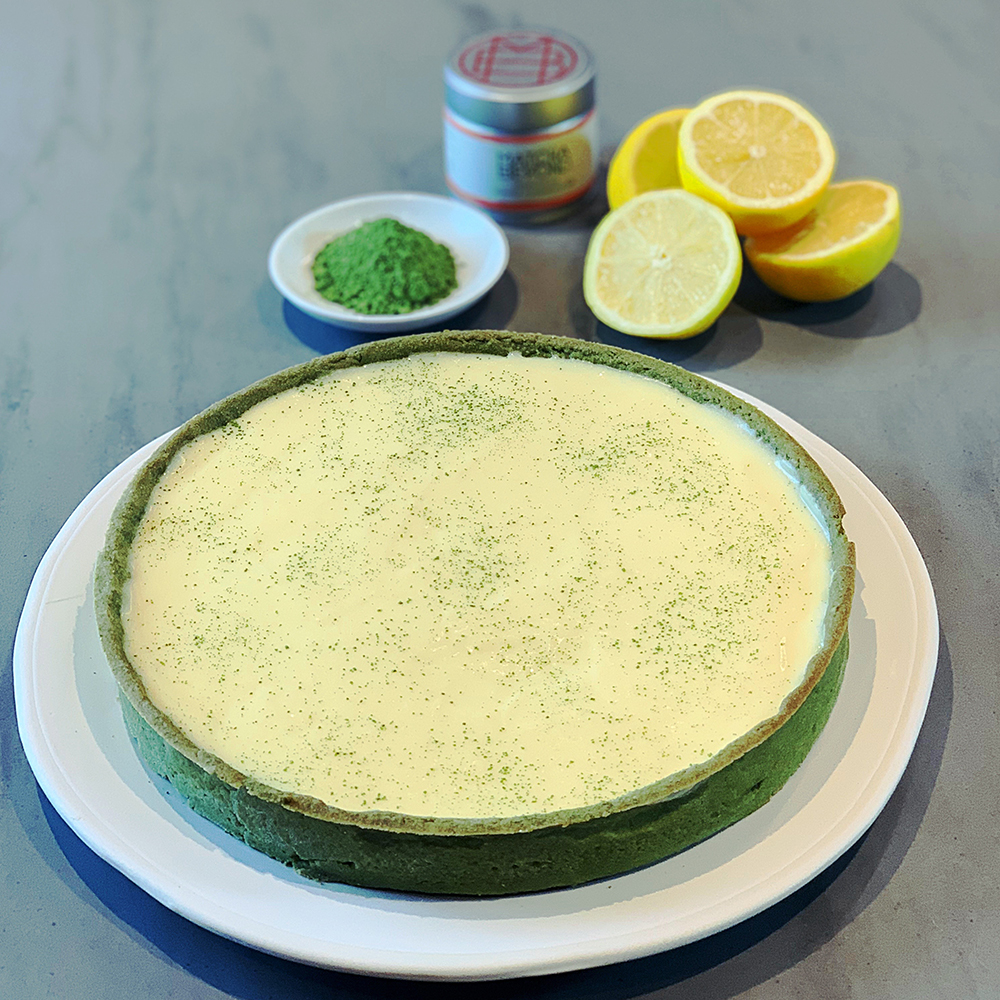 Matcha recipes - lemon tart
